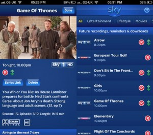 Sky+ Mobile App Updated