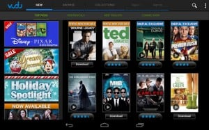 Vudu App Launches for Android Tablets