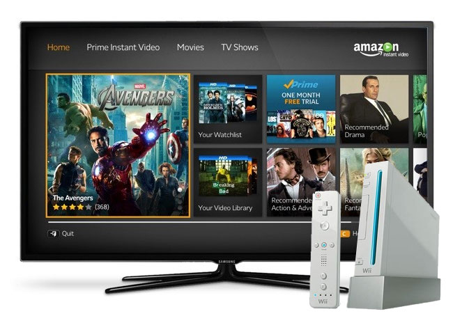 Amazon Instant Streaming Wii