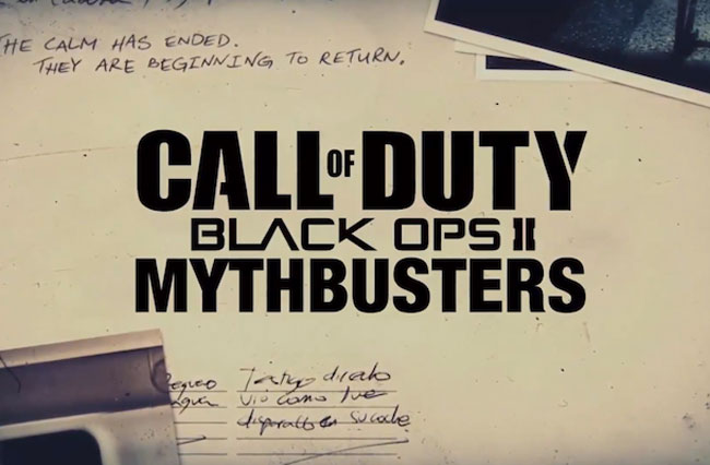 Black Ops 2 Mythbusters