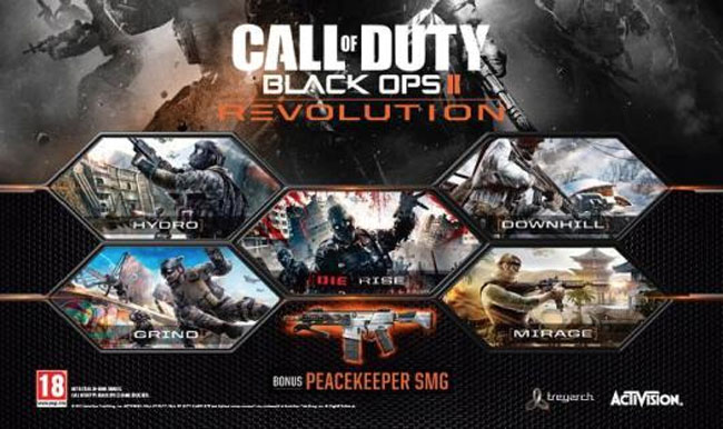 Black Ops II Revolution Map Pack Arrives On Xbox 360 With New