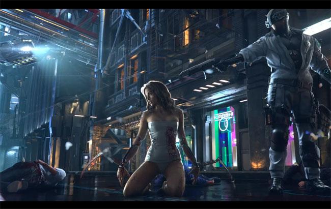 CCP Cyberpunk 2077 Trailer