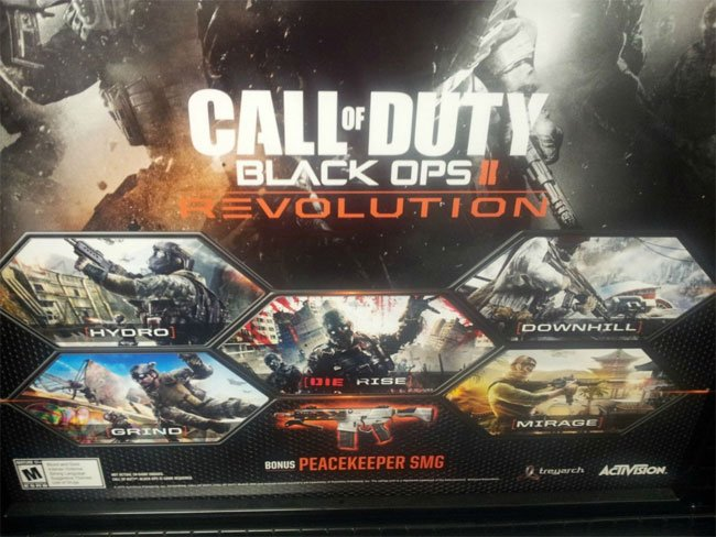 Call of Duty- Black Ops 2 Revolution DLC