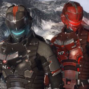 Dead Space 3 Allows You To Unlock Mass Effect 3 Armour (video)