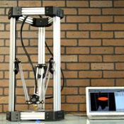 DeltaMaker 3D Printer Built On A Delta Robot Platform Unveiled (video)