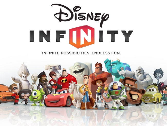 Disney Infinity Interactive Pieces – Initially a line of 40
