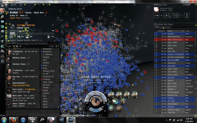 Eve Online Massive Battle