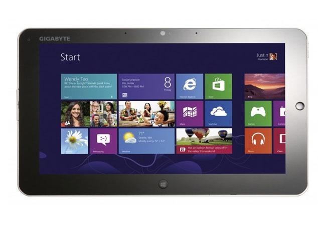 Gigabyte Windows 8 Tablets