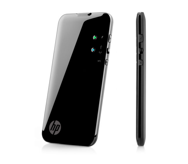Portable Storage Devices : Hp pocket playlist portable media storage and dvr for
