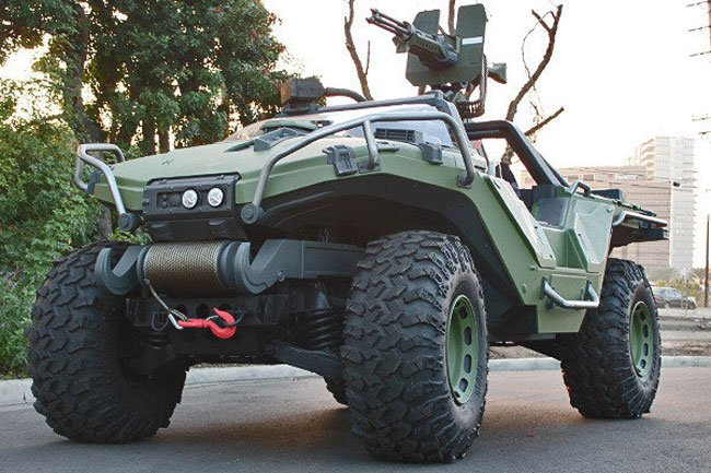 343 Industries Unveils New Real Life Halo Warthog Vehicle