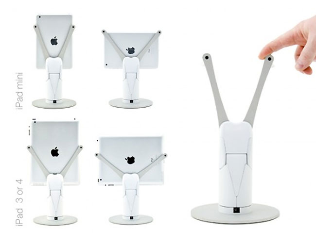 Kubi Ipad Stand Provides Remote Control Telepresence Video