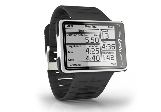 leikr gps sports designed by ex nokia engineers hits