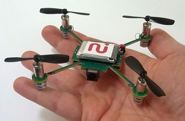 MeCam Flying Camera Smartphone Copter With Auto Follow Feature ...