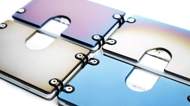 Omega Compact Solid Titanium Wallet