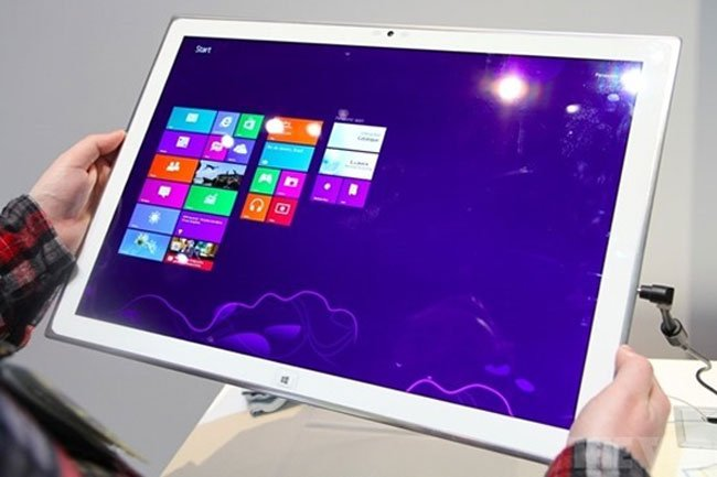 Panasonic Windows 8 20 inch tablet