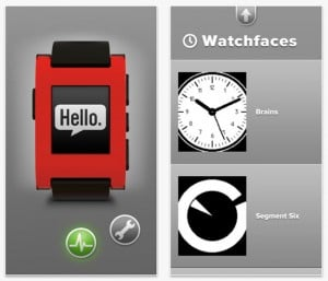 Pebble SmartWatch iPhone App Launches