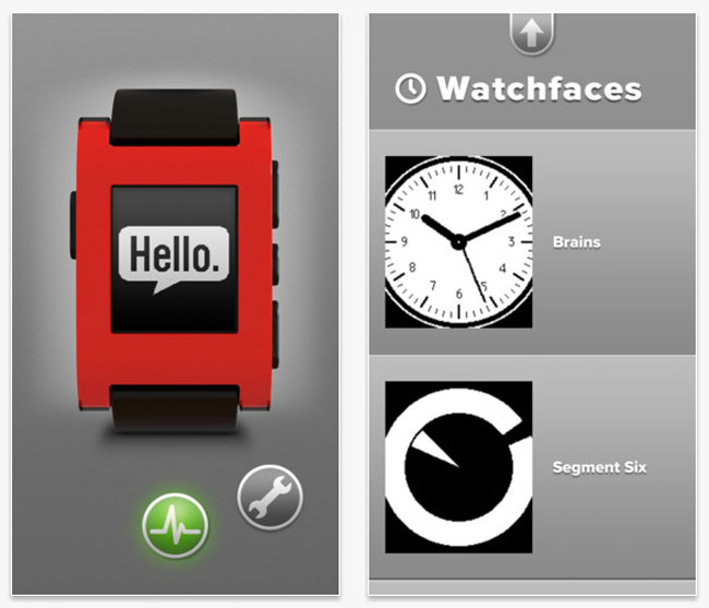 Pebble iPhone App
