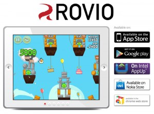 Angry Bird Creators Rovio Clock Up More Than 1 Billion Downloads