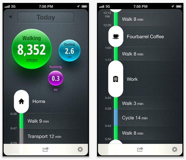 Moves iOS App