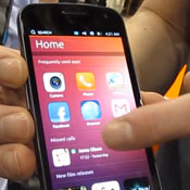 Ubuntu Phone OS Hands On At CES 2013 (video)