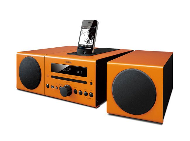 yamaha ios mini audio systems announced. Black Bedroom Furniture Sets. Home Design Ideas