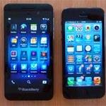 BlackBerry Z10 Vs iPhone 5 (Video)