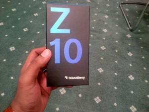 BlackBerry Z10 Retail Packaging Leaked