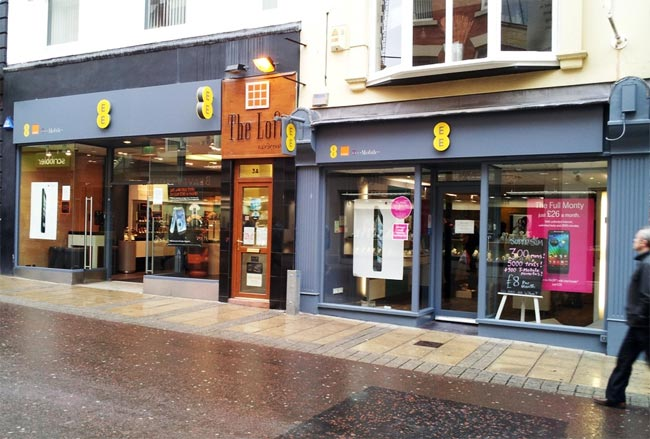 EE UK Stores