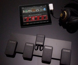 iOS Guitar/Bass Multi-FX System Equipped With Wireless Foot Switch (video)