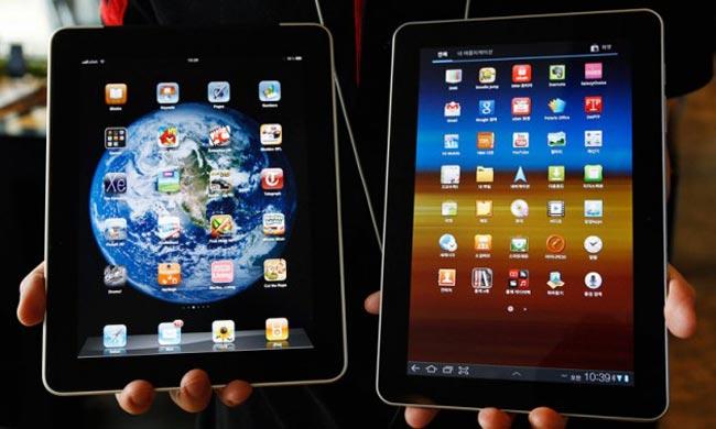 iPad Galaxy Tab