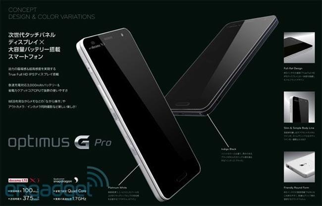 Optimus G Pro