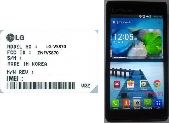 LG VS870