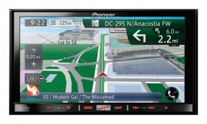 Pioneer Unveils New in-Dash Navigation Systems