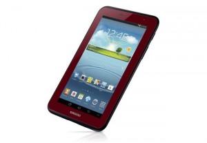 Red Samsung Galaxy Tab 2 Ltd Edition Announced