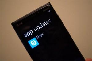 Skype App For Windows Phone Updated