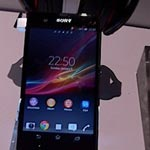 Sony Xperia Z Turns Up At CES