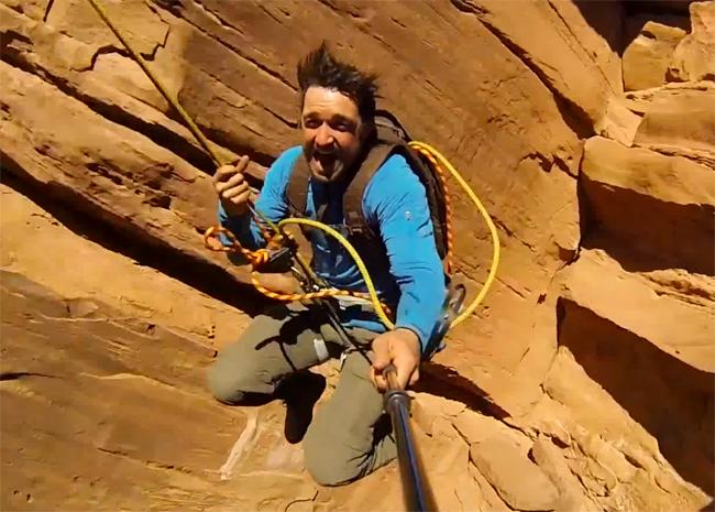 300 Foot Rope Swing