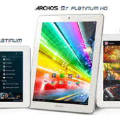Archos Platinum Tablet Range Of Quad-Core Devices Launches