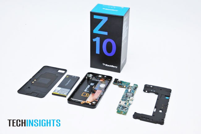BlackBerry Z10 Teardown