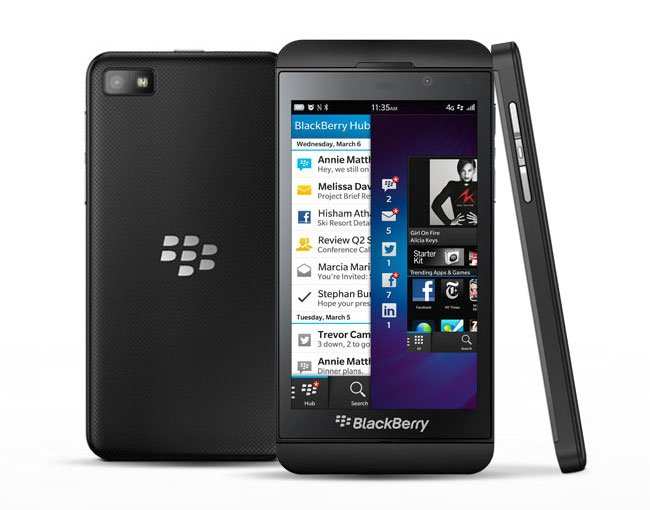 Blackberry Z10 Costs $154 To Make