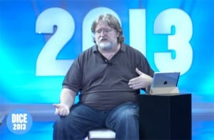 PC-to-TV Streaming Will Soon Be Standard Says Valve's Gabe Newell (video)