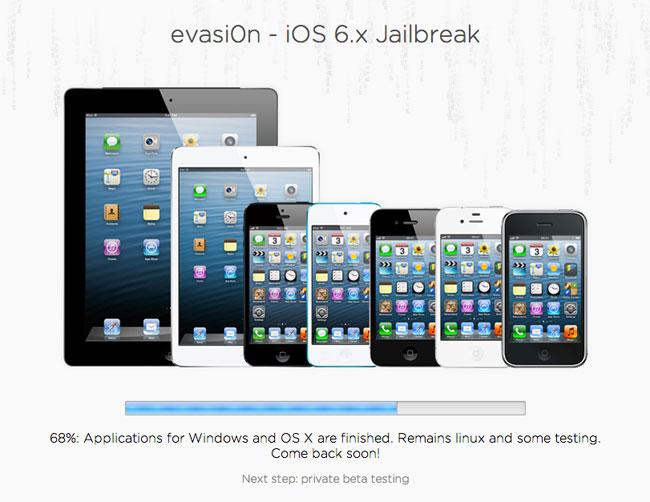 Evasi0n iOS 6.x Jailbreak