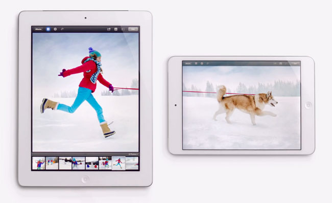 New iPad Adverts