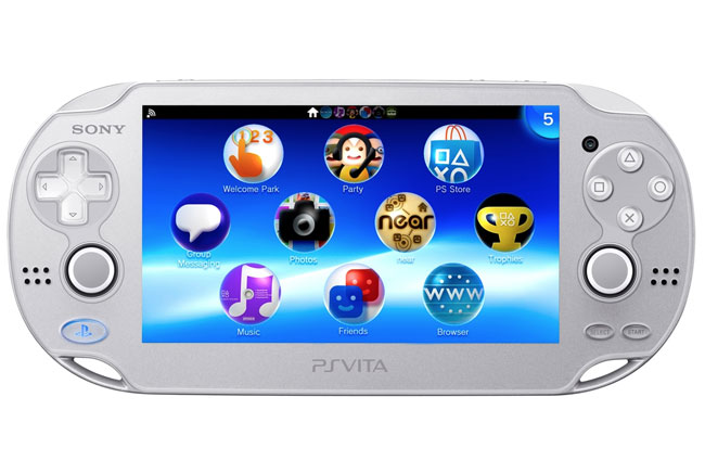 Playstation Vita Ice Silver