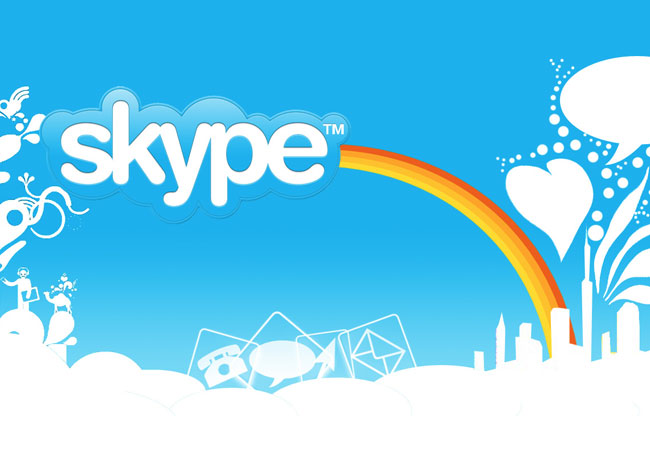 Skype video messaging