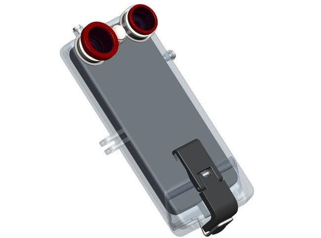 VicamPlus iPhone 5 GoPro Compatible Camera Case