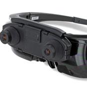 Vuzix Wrap 1200AR Augmented Reality Wearable Display (video)