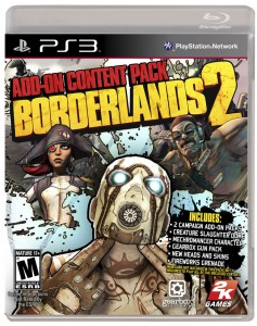 Borderlands 2 Add-on Content Pack Available in Stores