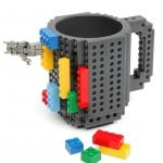 Build-on Brick Mug That You Construct Your Coffee Cup