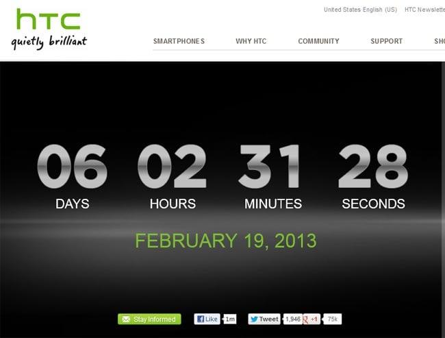 HTC M7 Launch